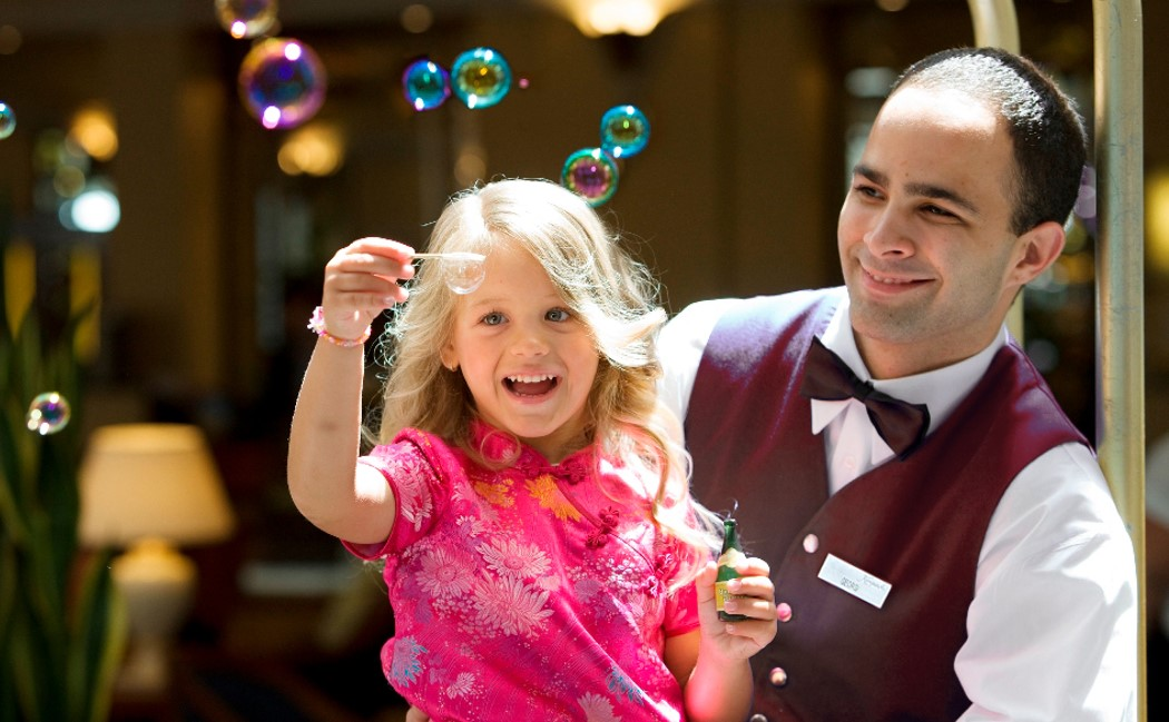 "Take advantage of the special family offer ""We LOVE Kids"" and have a wonderful time with you close ones at Kempinski Hotel Grand Arena Bansko"