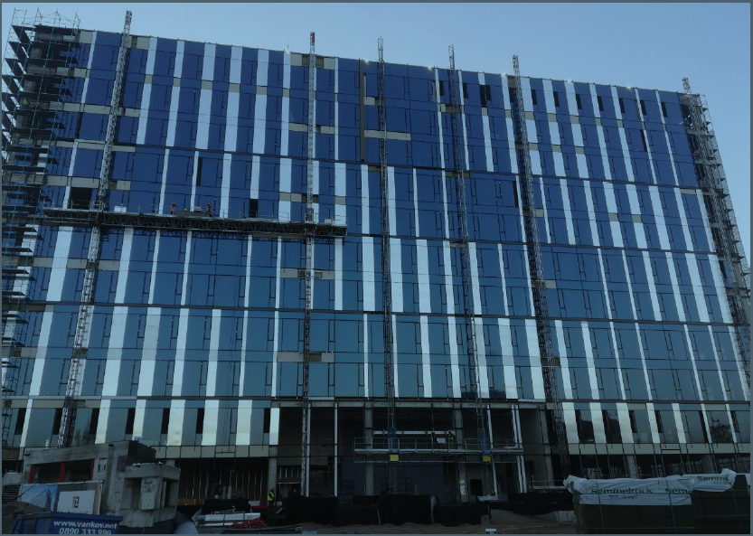 Allianz Bulgaria Holding pre-leases part of Park Lane Office Center building in Sofia