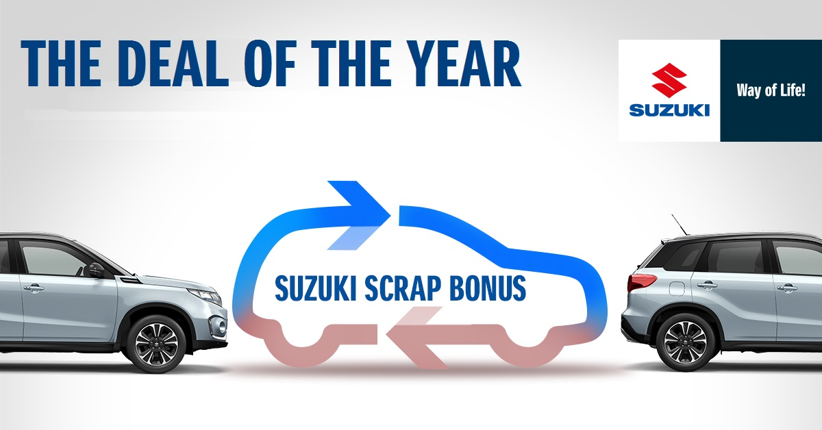 THE DEAL OF THE YEAR OFFERED BY SUZUKI