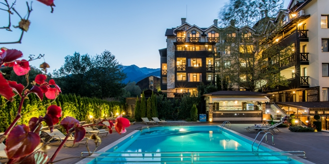 Dive into the mountains and get ready for totally relaxing and rejuvenating holiday at Premier Luxury Mountain Resort, Bansko!